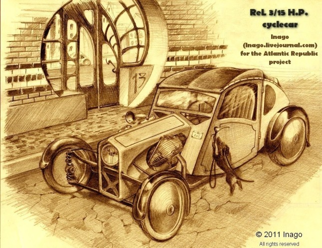 ReL Cyclecar